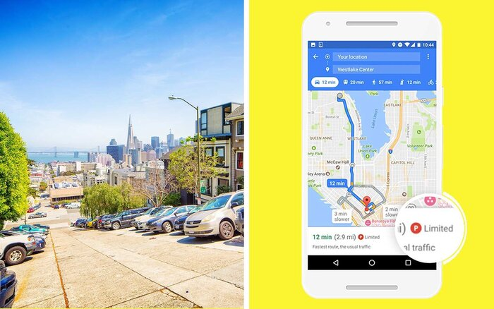 Avoid Parking Hassles With This Helpful New Google Maps Feature - Google maps san francisco