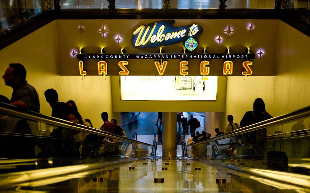 There\'s a Secret Bedroom at the Las Vegas Airport   Travel + Leisure