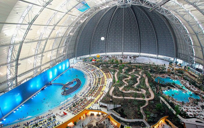 Inside The Gest Waterpark In World