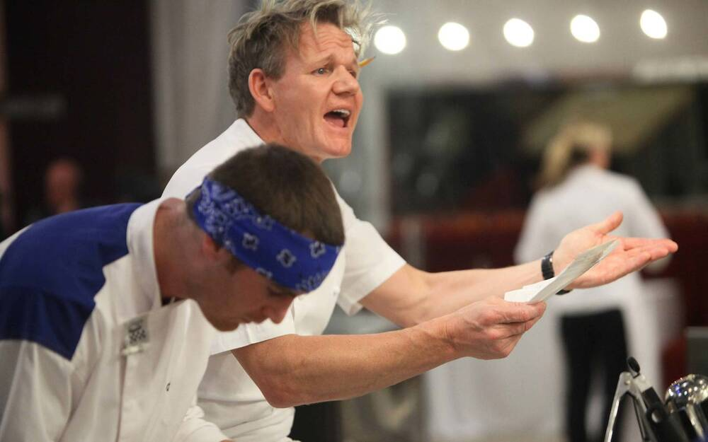 why gordon ramsay will never eat airplane food travel leisure
