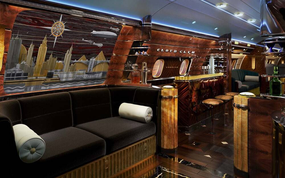 This Art Deco Jet Will Fly You Back to the 1920s | Travel + Leisure
