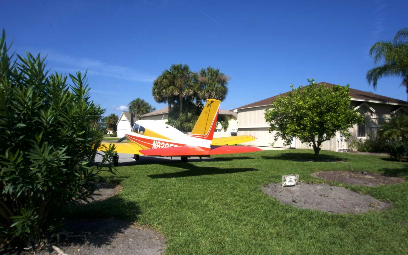 Welcome To Spruce Creek Where You Can Park Your Plane In Your