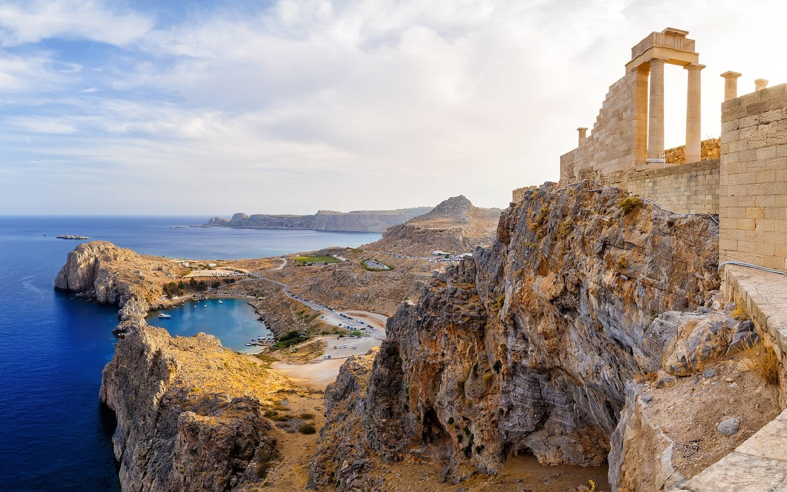 Acropolis of Lindos, Rhodes and Dodecanese