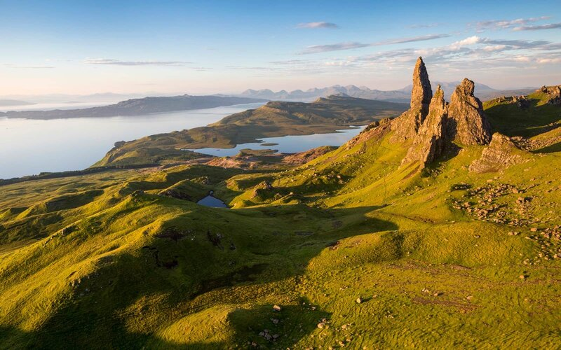 Isle of Skye and Hebrides, Scotland