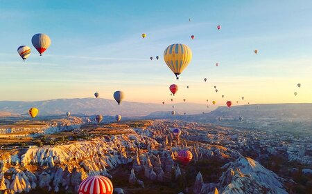 Flying In A Hot Air Balloon In Cappadocia Should Be On Your Bucket