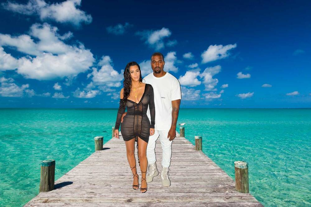 Heres How Much Kim Kardashian Spent On Kanye Wests 40th Birthday