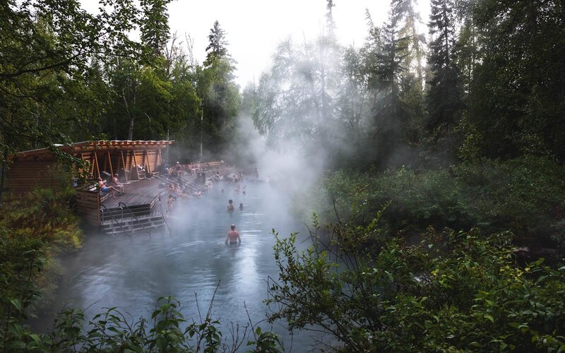 Liard Hot Springs, British Columbia, Canada