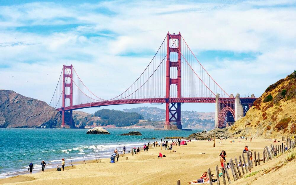 Baker Beach California
