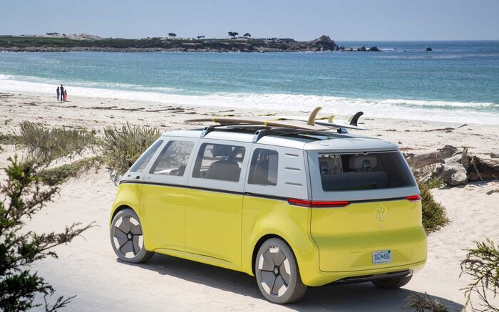 Volkswagens iconic campervan is back with an eco friendly twist vw microbus concept publicscrutiny Gallery