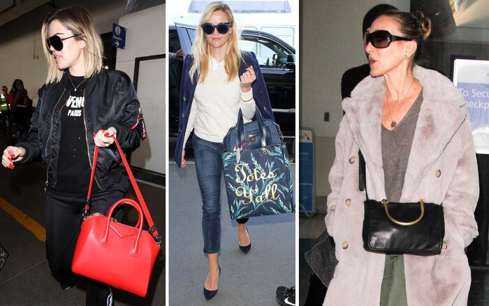 Celebrity Travel Bags