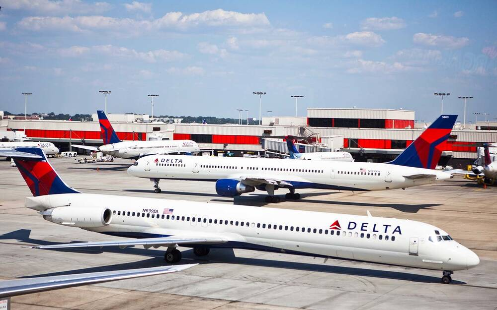 where travelers can find delta air lines hubs travel leisure