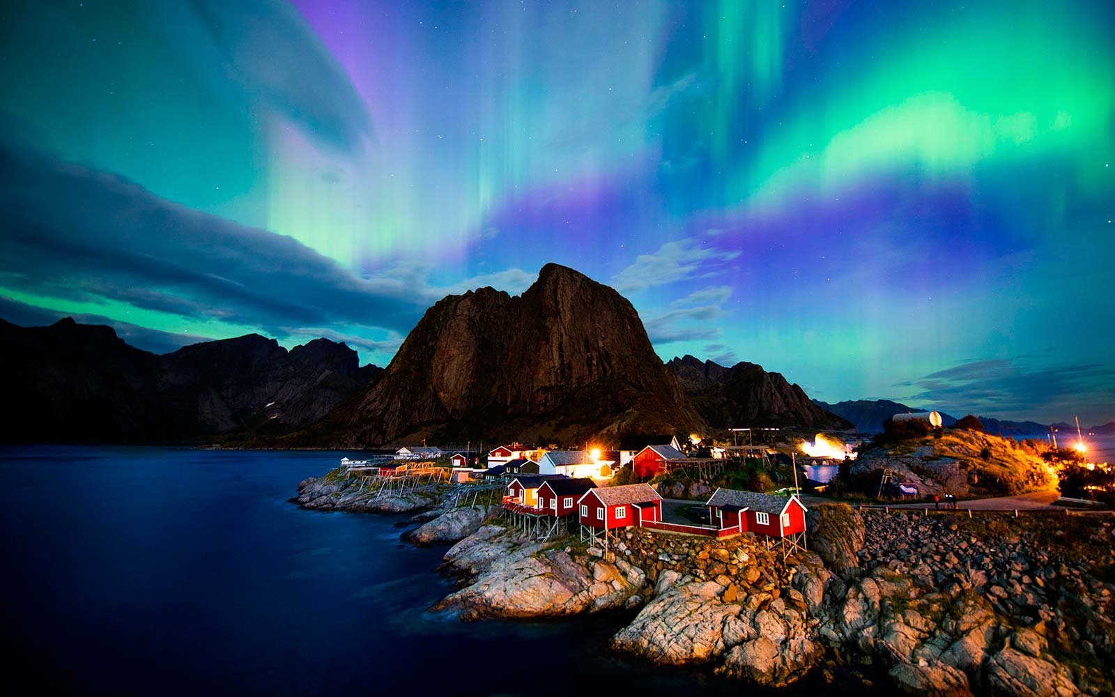 Image result for norway northern lights