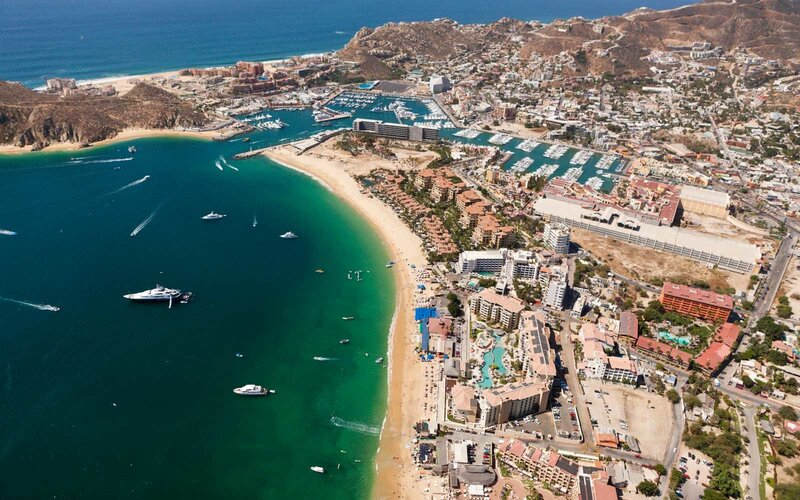 Harbour of Cabo San Lucas and Medano Beach, Mexico