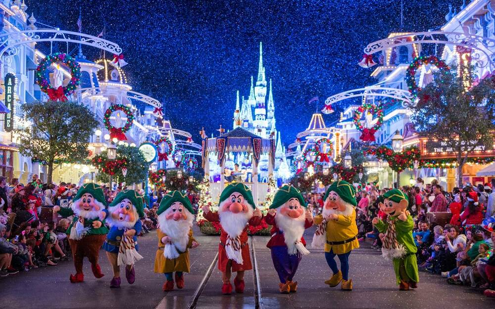 christmas has come to disney world and we already can t get enough