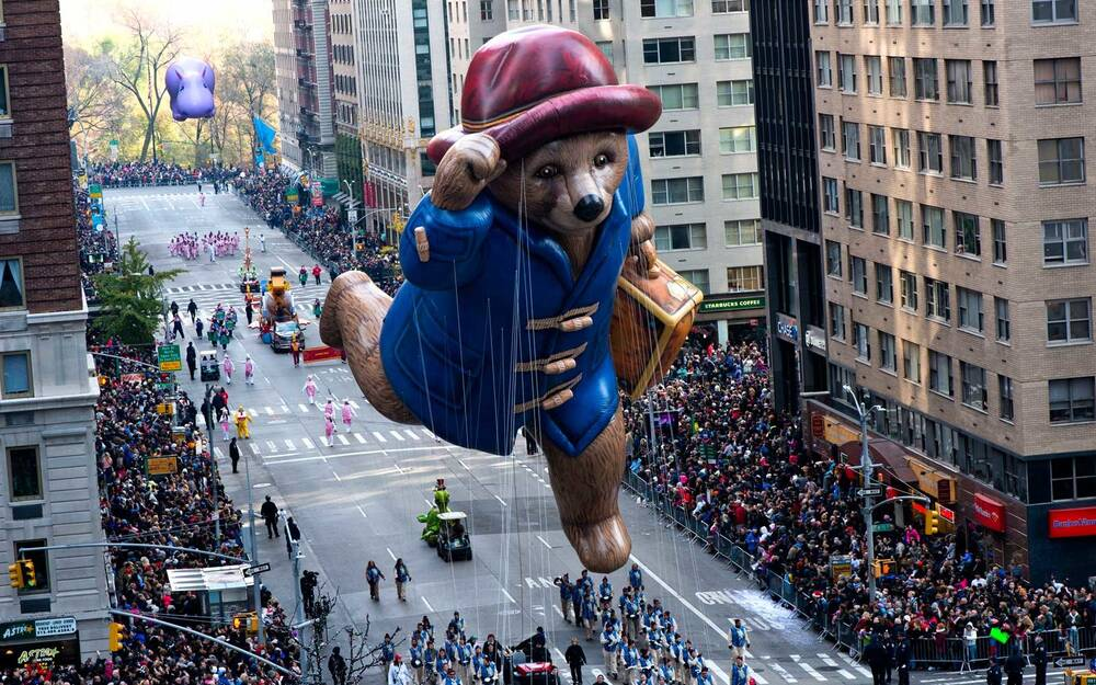 Paddington Bear Float At Macy S Thanksgiving Day Parade