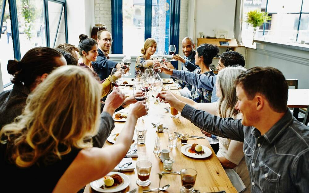 Opentable Reservation Dining Restaurant Friends Group