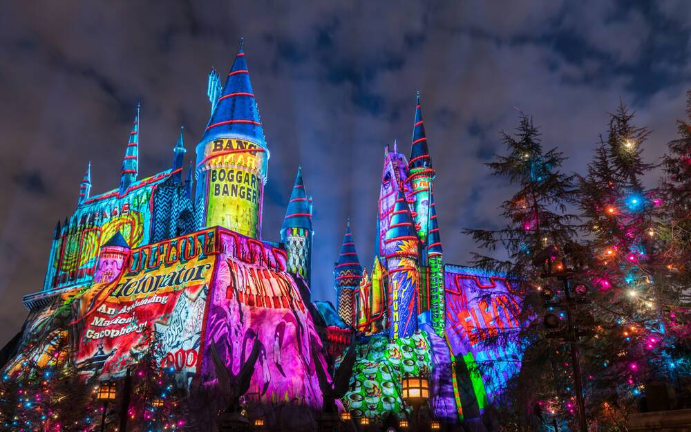 You Won\'t Believe How Magical Harry Potter World Is at Christmas ...