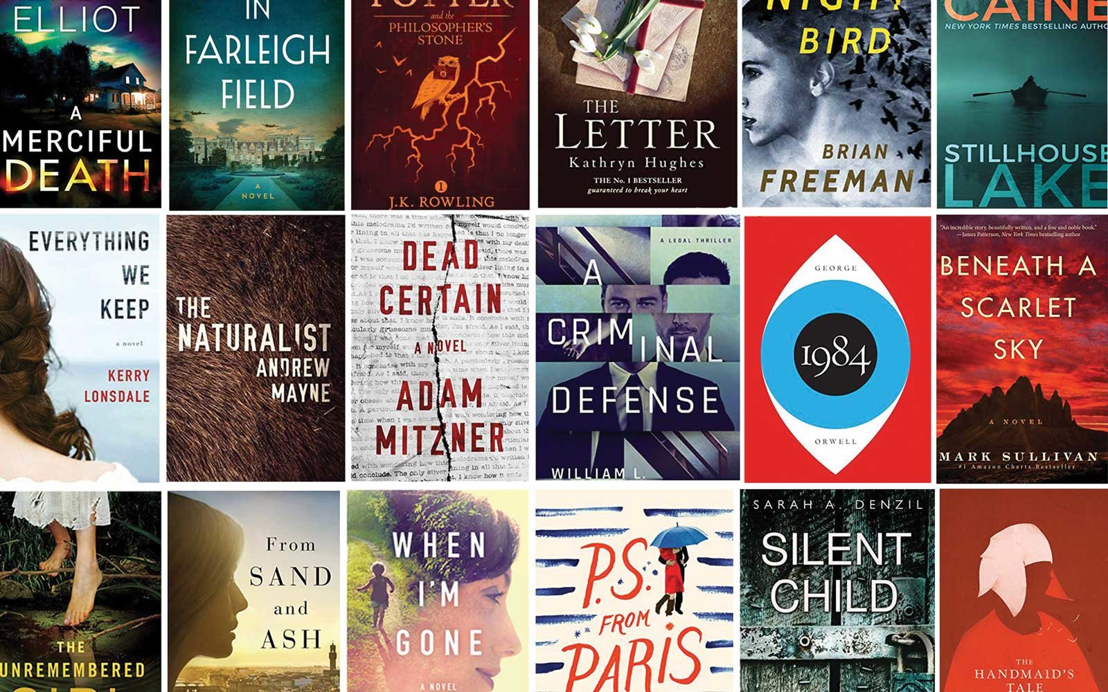 The 20 Most Popular Kindle E Books Of 2017 Travel Leisure