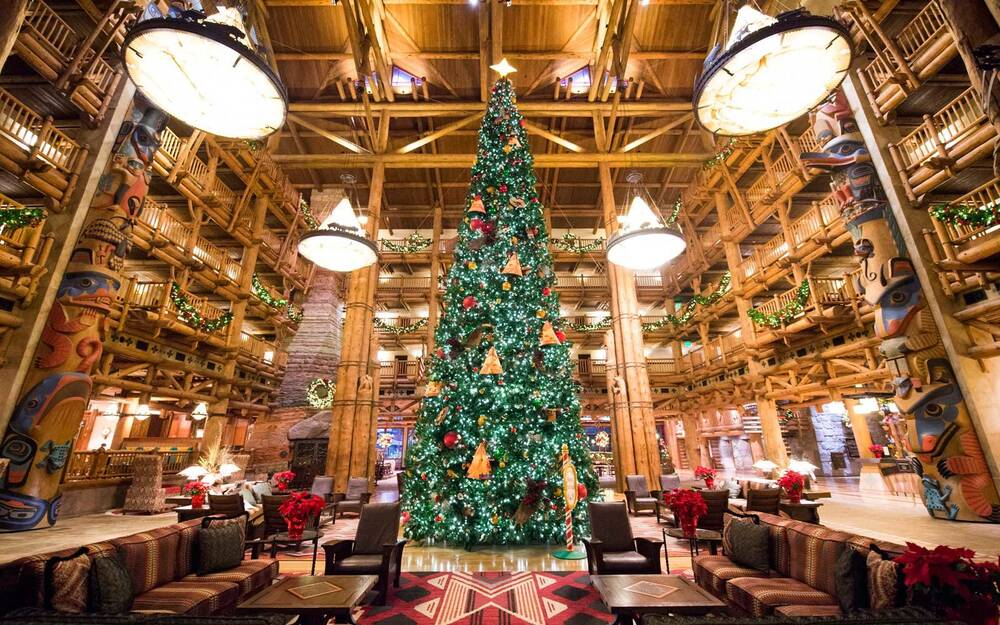 disney worlds wilderness lodge is the best place to spend christmas at the park