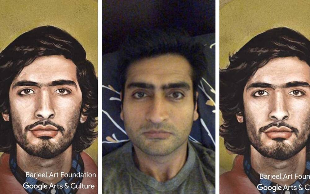 the best celebrity face matches from the google arts culture app