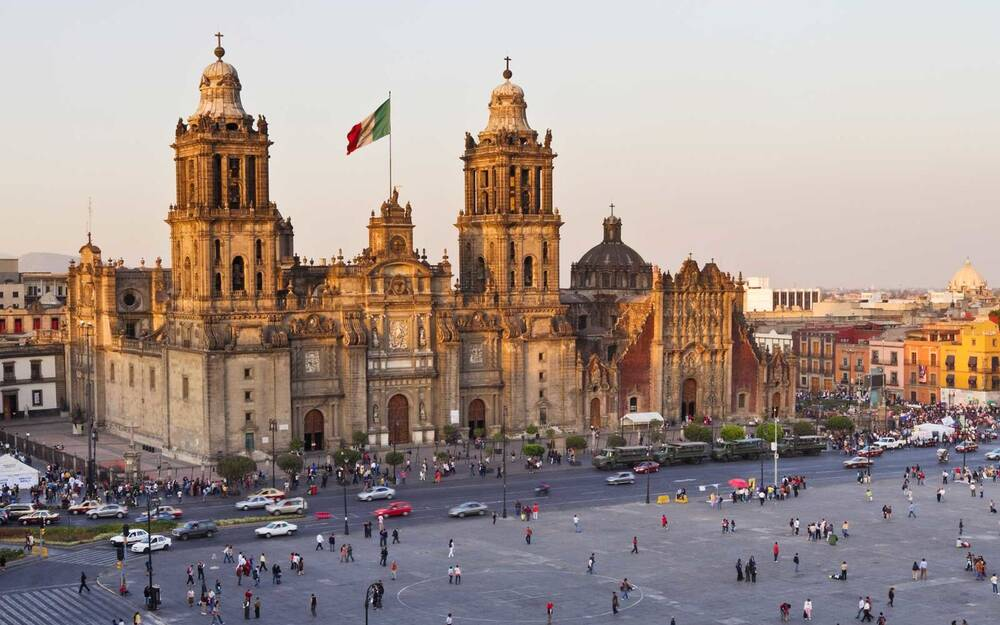Metropolitan Cathedral Basilica Of Our Lady Guadalupe Mexico City