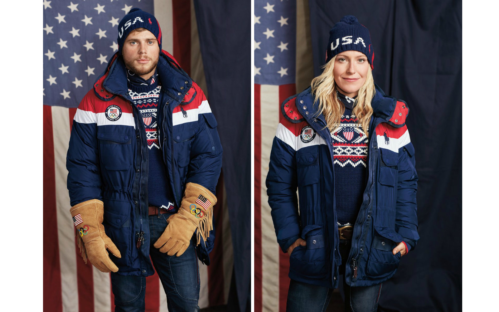 Ralph Lauren Made Self Heating Jackets For Team Usa Olympic Athletes