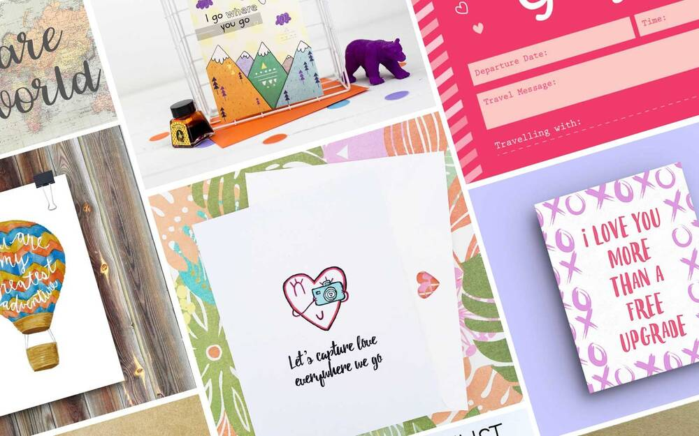 12 cute valentine s day cards for your favorite travel buddy