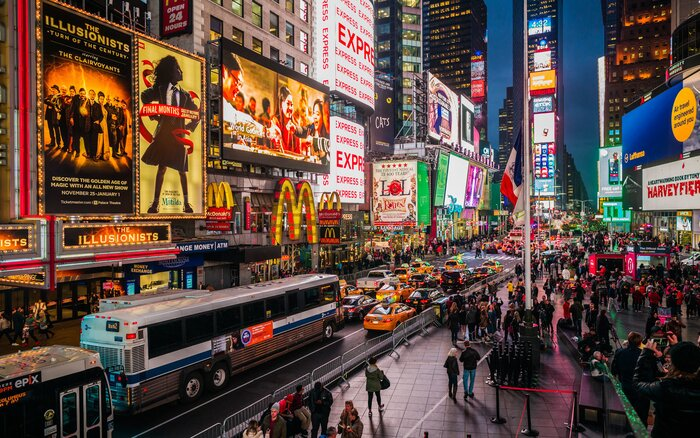 New york city just saw its highest number of tourists yet travel new york city voltagebd Image collections