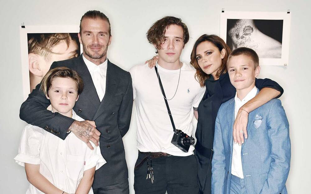 David and victoria beckham spent their spring break on a yacht with david beckham and family in london m4hsunfo