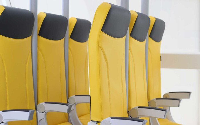 these stand up airplane seats look like a roller coaster ride