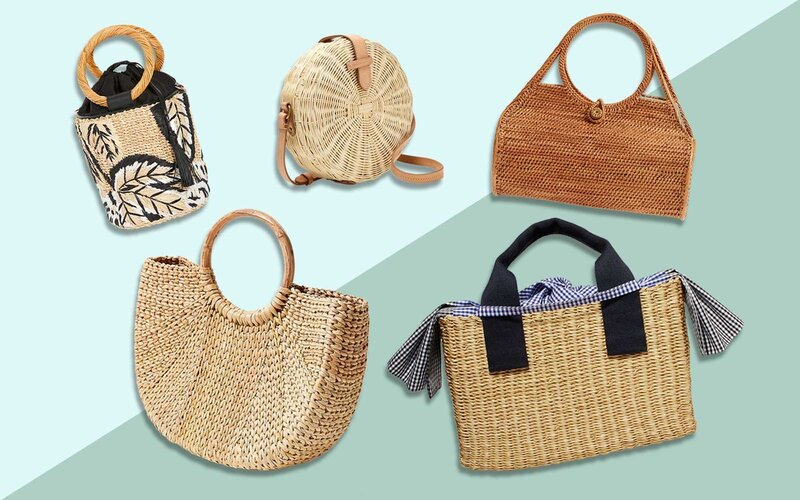 straw bags for summer