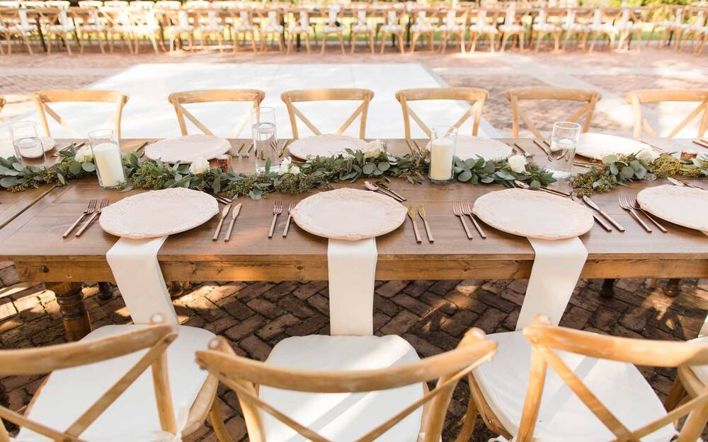 Dreamy Outdoor Wedding Decorations In Miami Florida