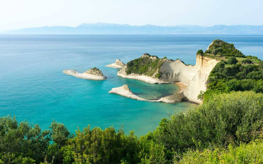Corfu Island Cape Drastis Greece