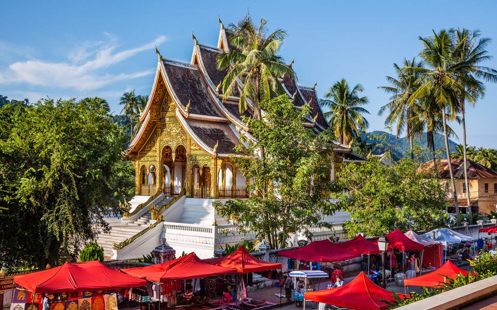 Wat Pahouak Temple, Luang Prabang, Laos