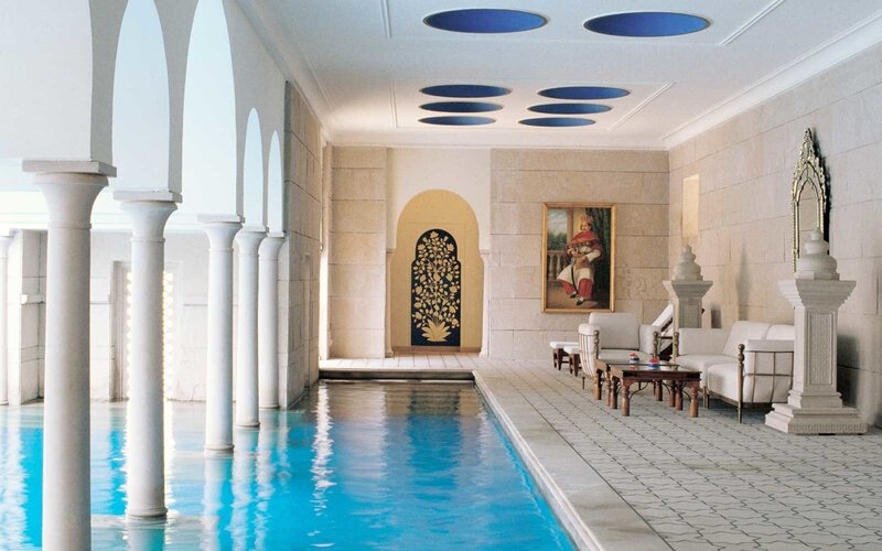 Pool at the Oberoi Amarvilas