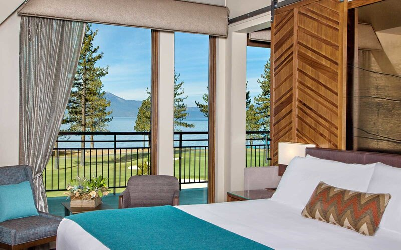 Room with a view at The Lodge at Edgewood Tahoe