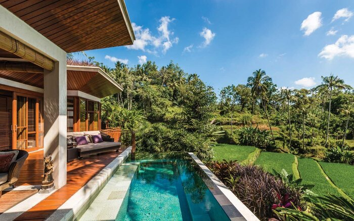 View From The Four Season Resort Bali At Sayan
