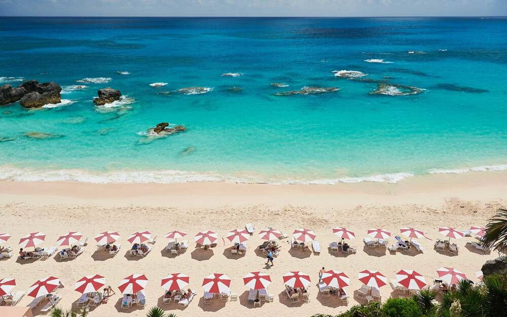 The Beach At Reefs One Of World S Best Resorts In Caribbean