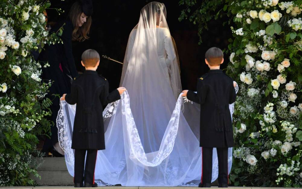 See Meghan Markle\'s Givenchy Wedding Dress From Every Angle | Travel ...