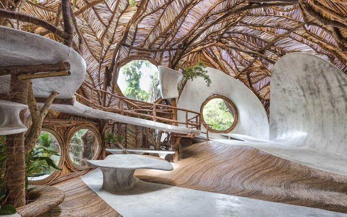 Tulum\'s Newest Art Gallery Is in a Treehouse — and You Have to Take ...