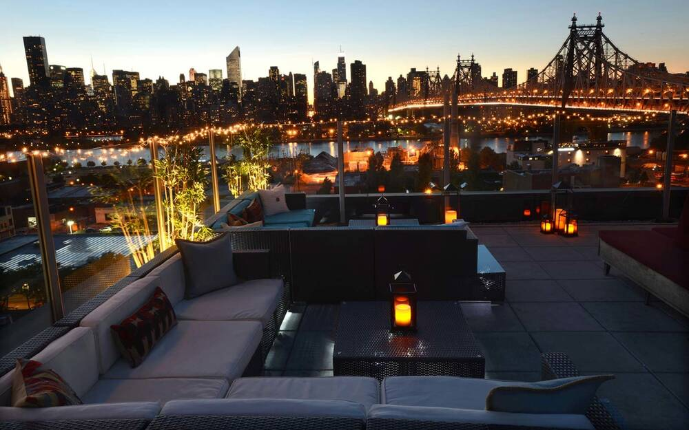 Z Hotel Rooftop Long Island City New York One Of The Best Views
