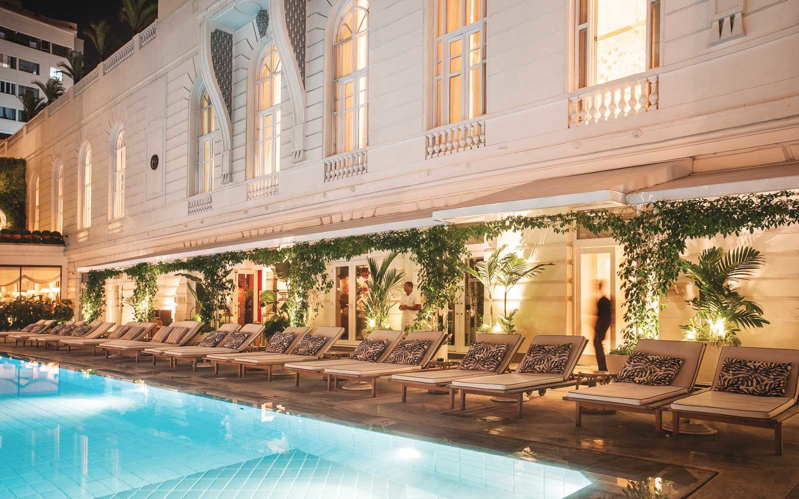 Pool at the Belmond Copacabana Palace