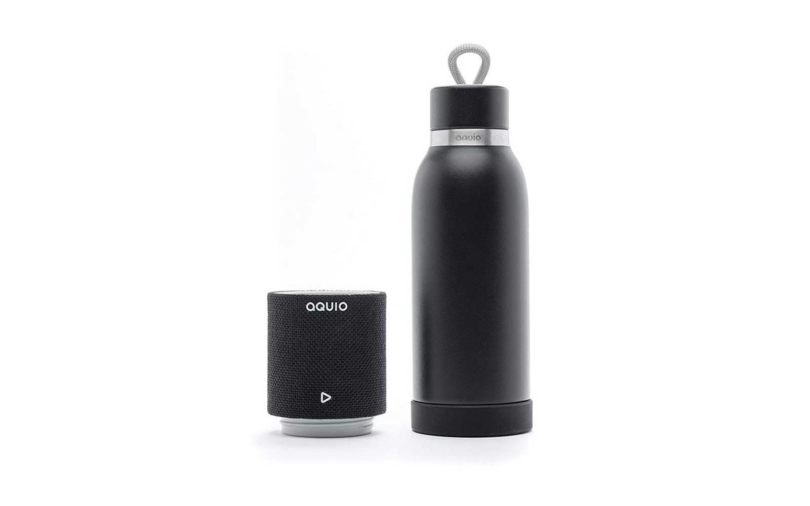 Aquio Water Bottle and Bluetooth Speaker