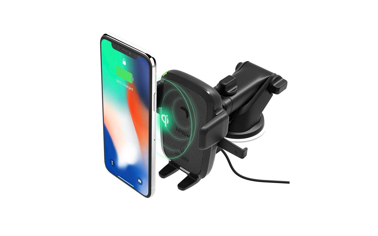 iOttie Easy One Touch 4 Wireless Qi Fast-charging Car Mount