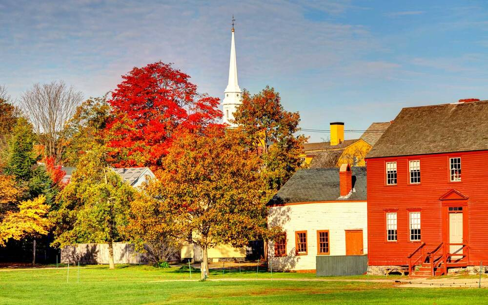 Autumn In Portsmouth New Hampshire