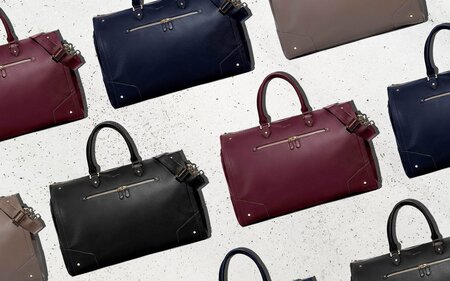 This 2-in-1 Leather Duffle and Garment Bag Will Keep Your Outfits ... dff8af9201