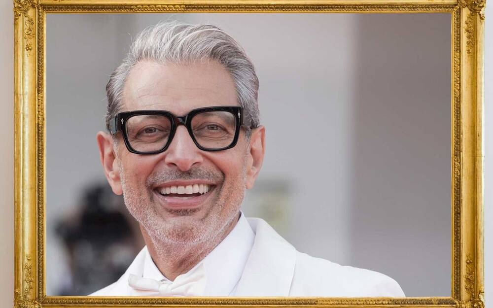 This Thrift Shop Put Photos Of Jeff Goldblum In Every Single Picture