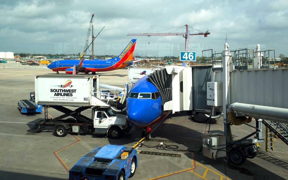 Southwest Airlines In Houston Texas