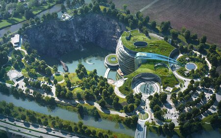 china is opening the world s first underground hotel inside an