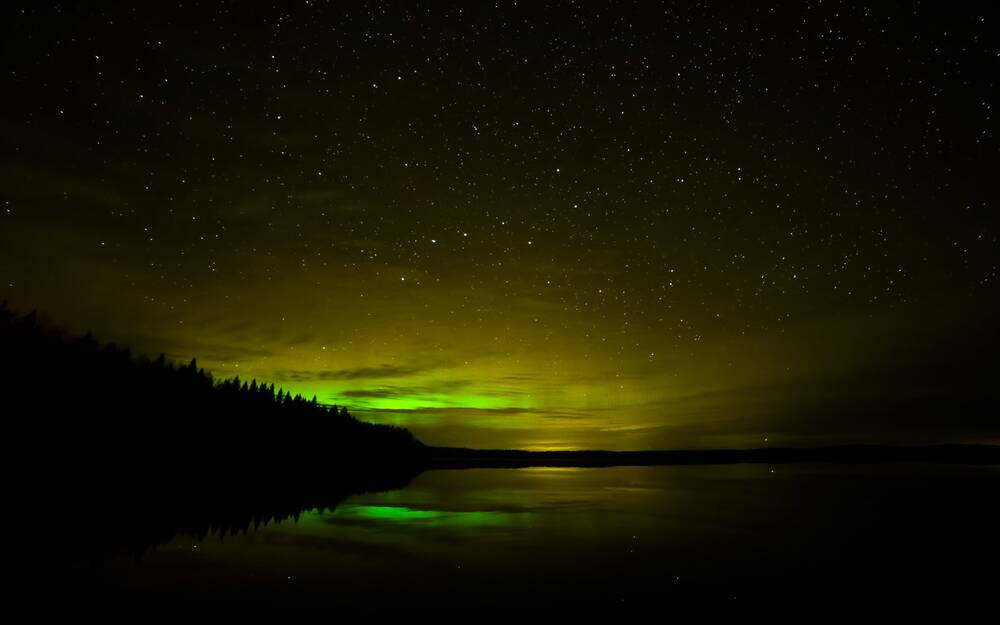 the northern lights may be visible in the u s tonight travel